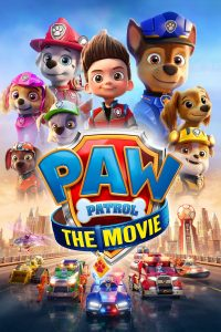 """Poster for the movie """"PAW Patrol: The Movie"""""""